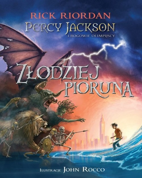 okładka Percy Jackson i bogowie olimpijscy Złodziej Piorunaksiążka |  | Rick Riordan