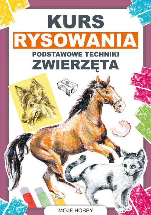 okładka Kurs rysowania Podstawowe techniki Zwierzętaksiążka |  | Mateusz  Jagielski