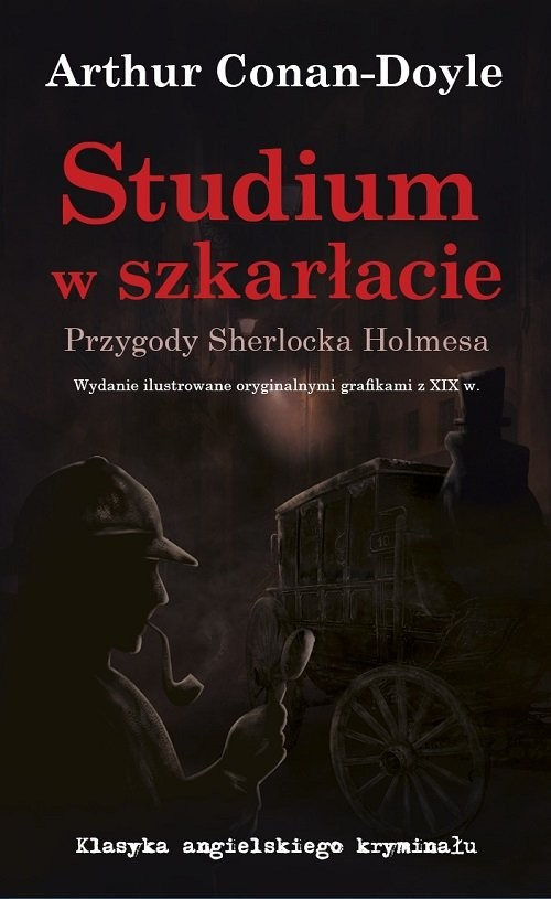 okładka Studium w szkarłacie Przygody Sherlocka Holmesaksiążka |  | Arthur Conan Doyle