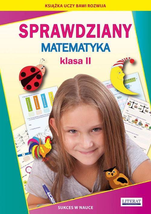 okładka Sprawdziany Matematyka Klasa 2 Sukces w nauceksiążka      Beata Guzowska, Iwona Kowalska