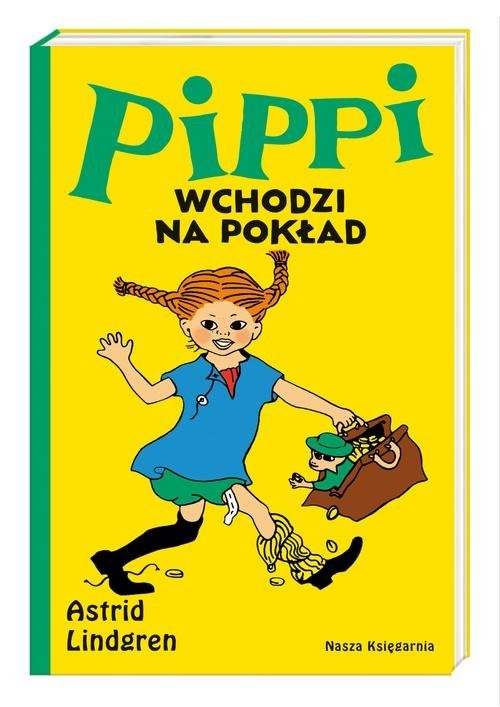 okładka Pippi wchodzi na pokładksiążka |  | Astrid Lindgren