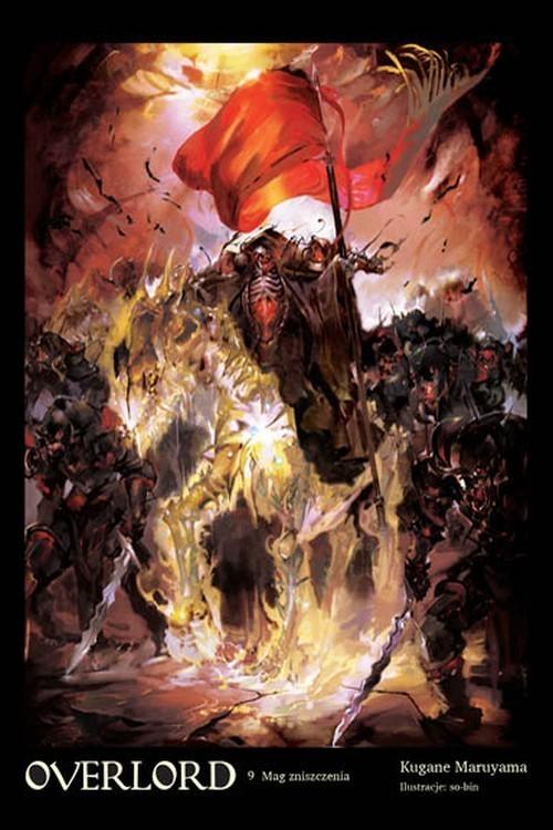 okładka Overlord 9 Mag zniszczeniaksiążka      Maruyama Kugane