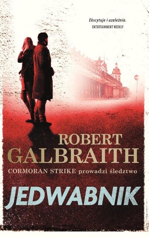okładka Jedwabnikksiążka      Robert Galbraith