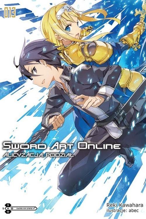 okładka Sword Art Online #13 Alicyzacja: Podziałksiążka      Kawahara Reki
