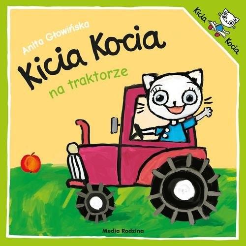 okładka Kicia Kocia na traktorzeksiążka      Anita Głowińska