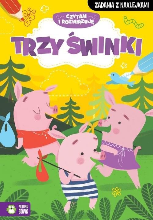 okładka Czytam i rozwiązuję Trzy małe świnkiksiążka |  | Praca Zbiorowa