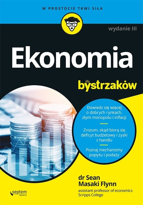 okładka Ekonomia dla bystrzakówksiążka |  | Flynn Sean Masaki