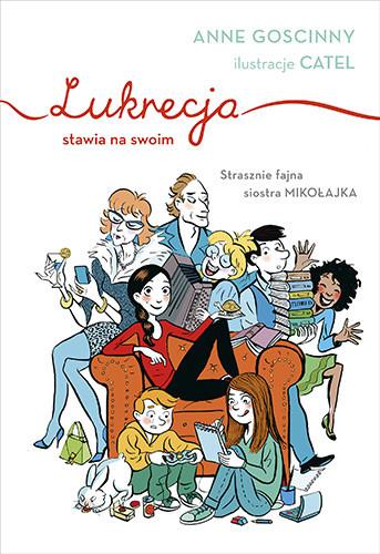 okładka Lukrecja stawia na swoimksiążka |  | Goscinny Anne