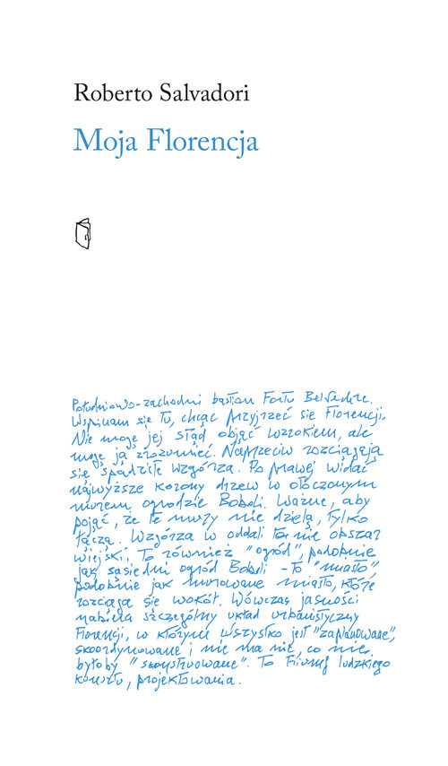 okładka Moja Florencjaksiążka      Salvadori Roberto
