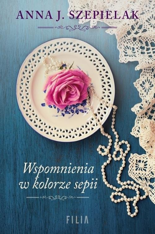 okładka Wspomnienia w kolorze sepiiksiążka |  | Anna J. Szepielak
