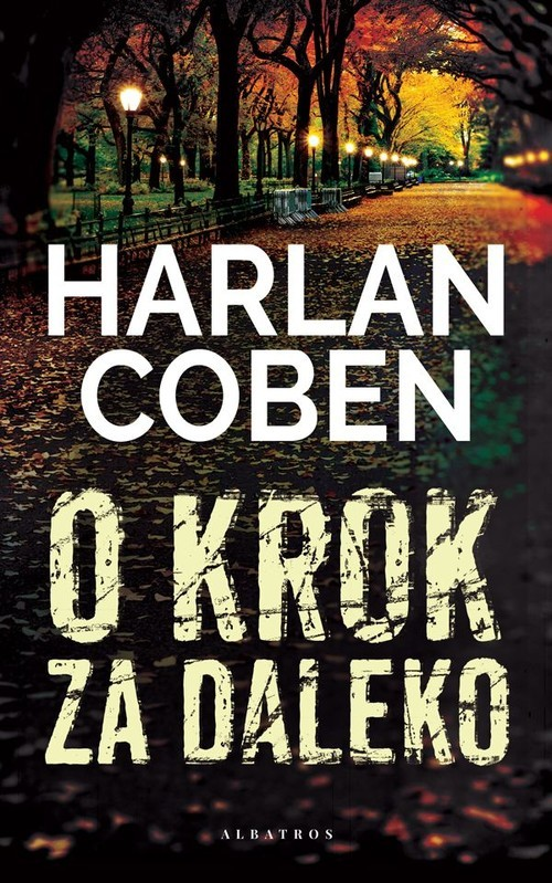 okładka O krok za dalekoksiążka      Harlan Coben
