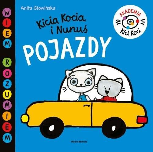 okładka Akademia Kici Koci. Pojazdyksiążka      Anita Głowińska