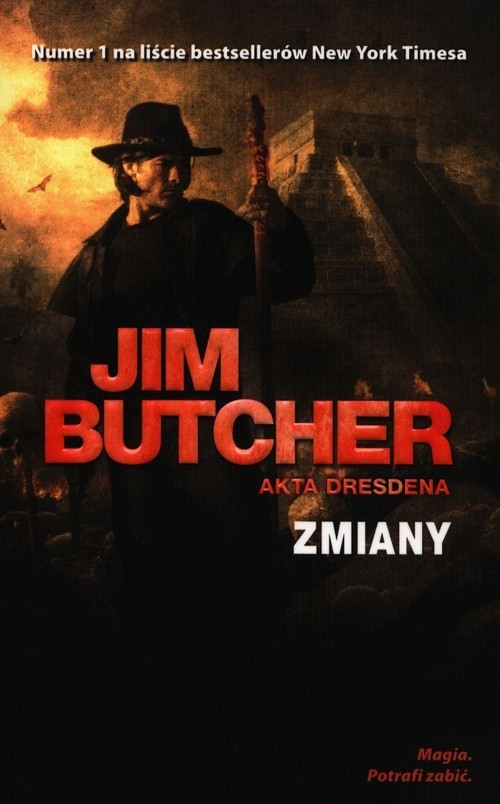 okładka Akta Dresdena Tom 12 Zmianyksiążka |  | Jim Butcher