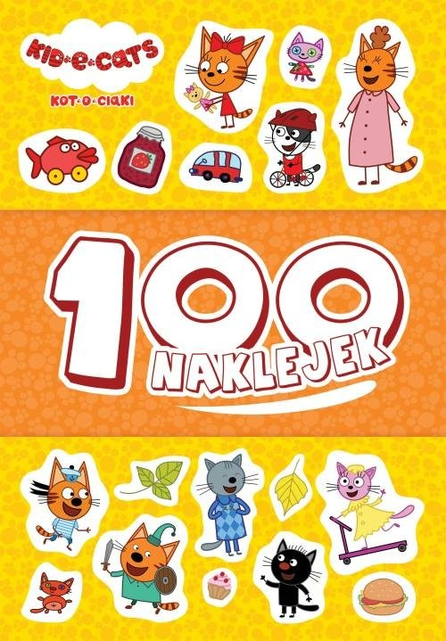 okładka Kot-o-ciaki 100 naklejekksiążka |  | null null