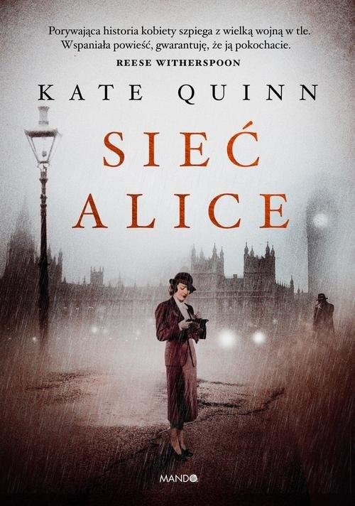 okładka Sieć Aliceksiążka |  | Quinn Kate
