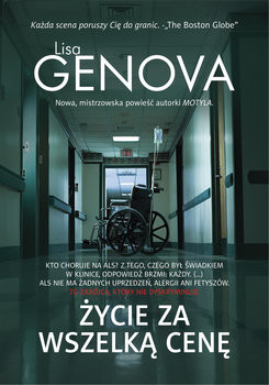 okładka Życie za wszelką cenęksiążka |  | Lisa Genova