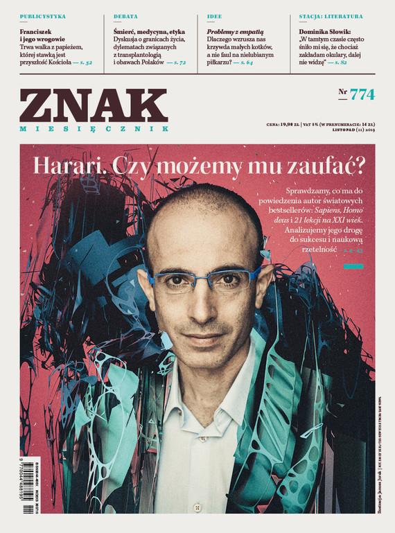 okładka ZNAK 774 11/2019: Harari. Czy możemy mu zaufać? książka |  |
