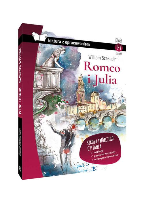 okładka Romeo i Julia Lektura z opracowaniem Klasy 1-4 liceumksiążka |  | William Szekspir