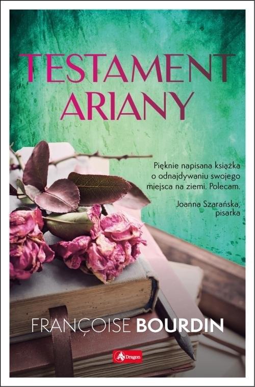 okładka Testament Arianyksiążka      Bourdin Francoise