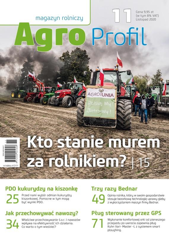 okładka Agro Profil 11/2020ebook | pdf | praca zbiorowa
