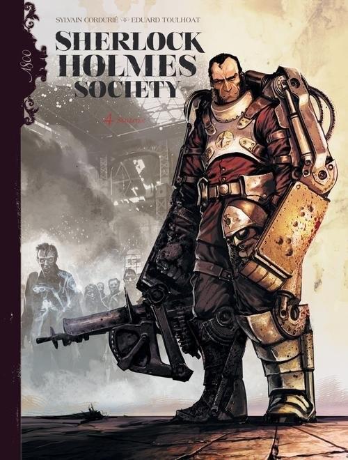 okładka Sherlock Holmes Society Tom 4 Skażenieksiążka |  | Sylvain Cordurie