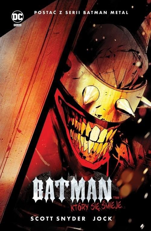 okładka Batman Tom 1 Który się śmiejeksiążka      Scott Snyder, James TynionIV