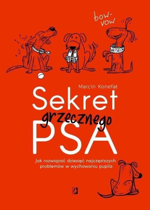 okładka Sekret grzecznego psa Jak rozwiązać dziesięć najczęstszych problemów w wychowaniu pupilaksiążka      Marcin Konefał