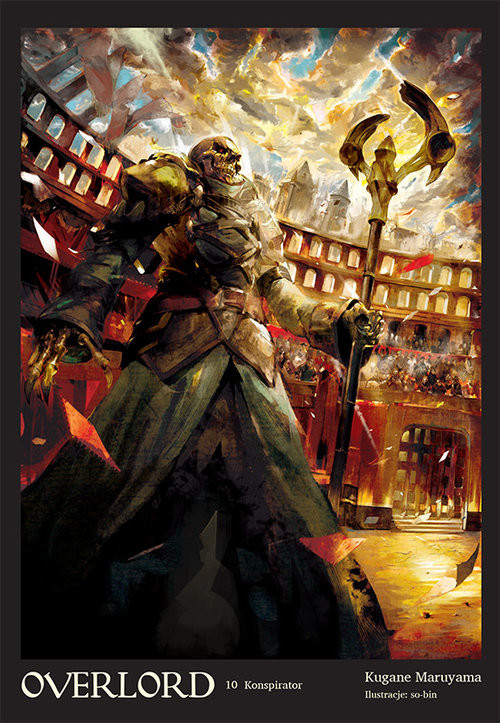 okładka Overlord #10 Konspiratorksiążka |  | Maruyama Kugane