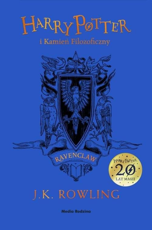 okładka Harry Potter i kamień filozoficzny Ravenclawksiążka      Joanne K. Rowling