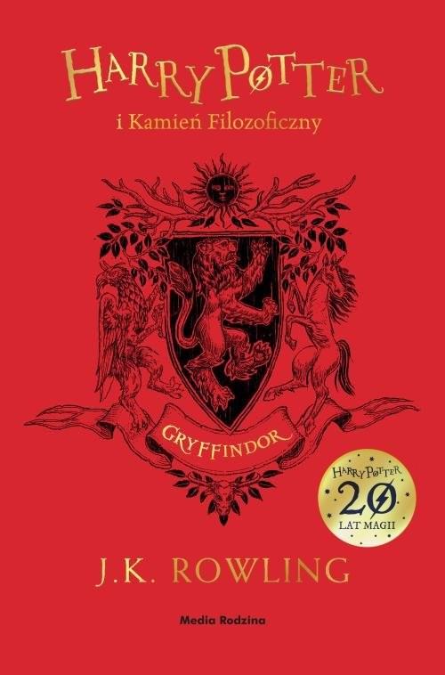 okładka Harry Potter i kamień filozoficzny (Gryffindor)książka      Joanne K. Rowling