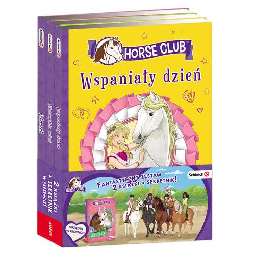 okładka Schleich Horse Club Wspaniały dzień / Niezwykła wieź / Sekretnik Pakietksiążka |  | Walden Emma