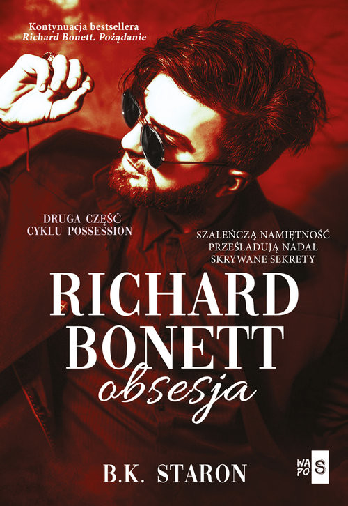 okładka Richard Bonett Obsesjaksiążka |  | Staron B.K.