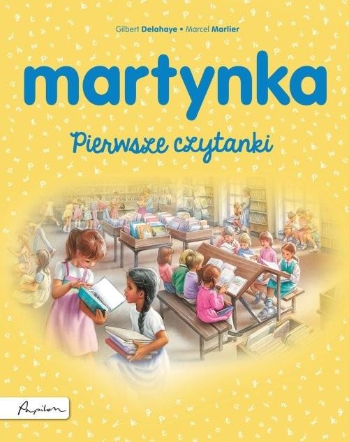 okładka Martynka Pierwsze czytankiksiążka |  | Gilbert Delahaye