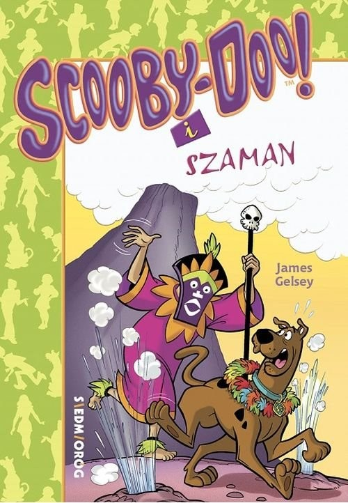 okładka Scooby-Doo! i Szamanksiążka      James Gelsey