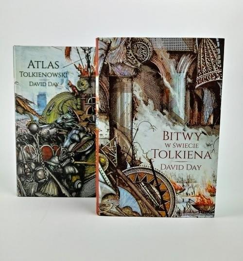 okładka Pakiet Atlas Tolkienowski/Bitwy w świecie Tolkienaksiążka |  | Day David