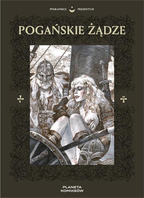 okładka PPGraphics prezentuje: Pogańskie Żądzeksiążka      Anna Helena Szymborska