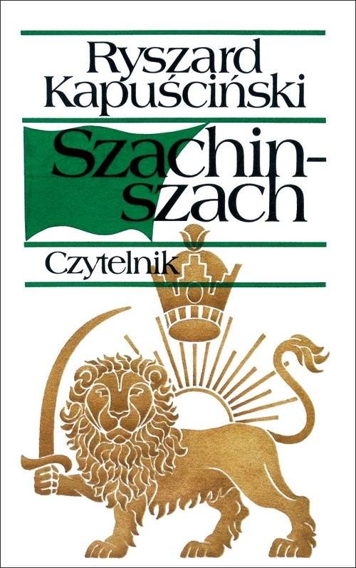 okładka Szachinszachksiążka      Ryszard Kapuściński