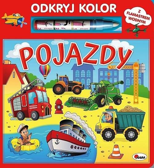 okładka Odkryj kolor Pojazdyksiążka |  | Kwiecińska Mirosława