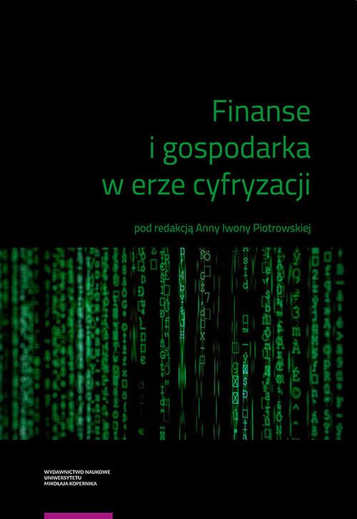 okładka Finanse i gospodarka w erze cyfryzacjiksiążka |  |