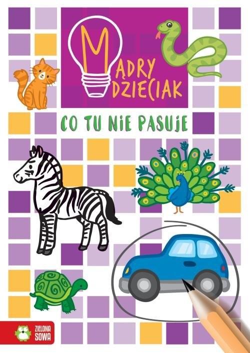 okładka Mądry dzieciak Co tu nie pasujeksiążka |  | Sarna Katarzyna