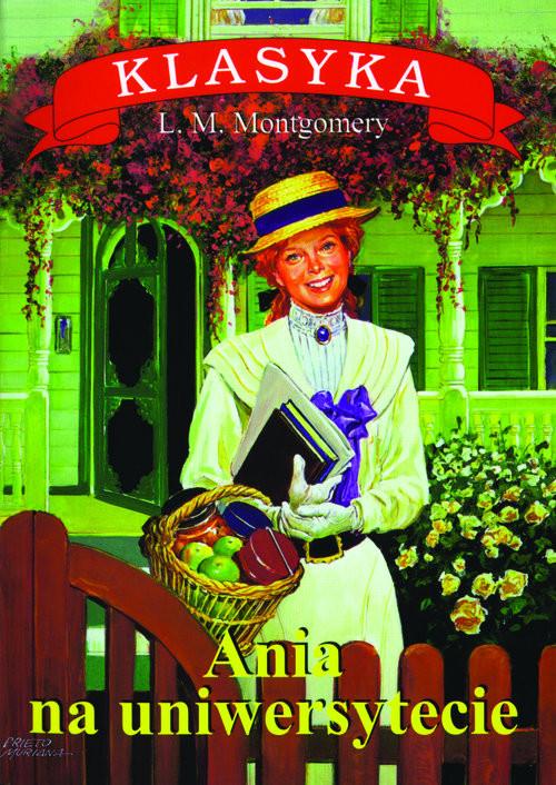 okładka Ania na uniwersytecieksiążka |  | Lucy Maud Montgomery