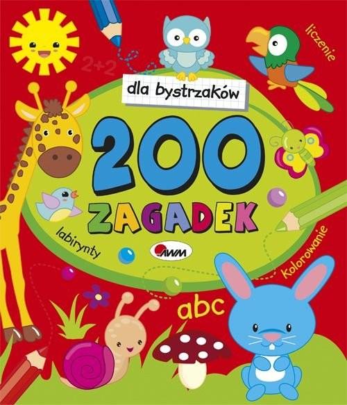 okładka Dla bystrzaków 200 zagadekksiążka |  | Czarnecka Jolanta