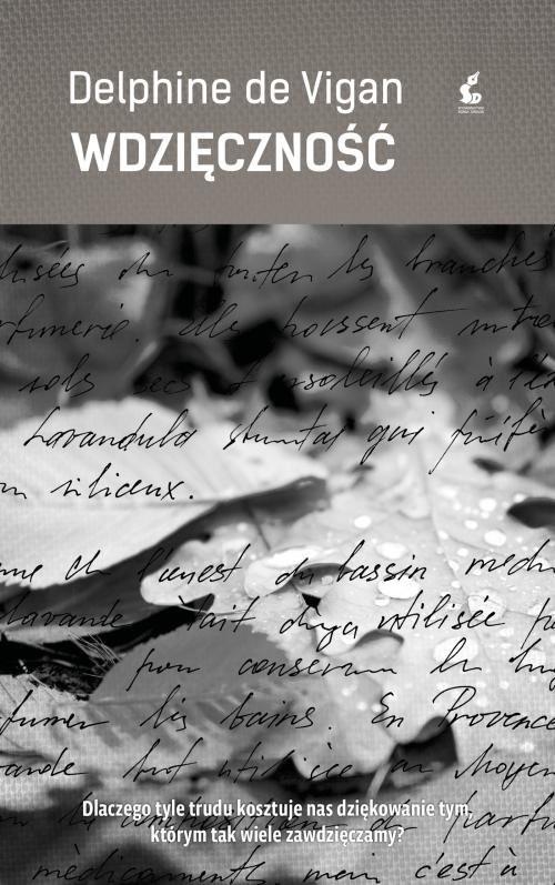 okładka Wdzięcznośćksiążka |  | Vigan Delphine