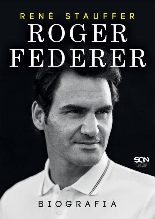 okładka Roger Federer Biografiaksiążka      Stauffer Rene