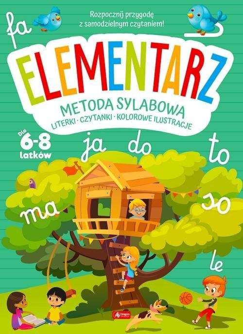 okładka Elementarz Metoda sylabowa Literki - Czytanki - Kolorowe ilustracje dla 6-8 latkówksiążka |  |
