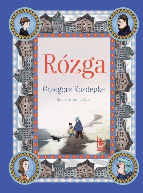 okładka Rózgaksiążka      Grzegorz Kasdepke