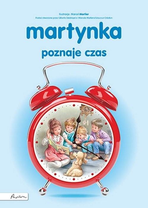 okładka Martynka poznaje czasksiążka |  | Gilbert Delahaye