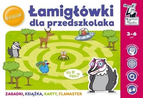 okładka Łamigłówki dla przedszkolakaksiążka      Natalia Minge, Krzysztof Minge, Monika Sobkowiak, Biela Agnieszka