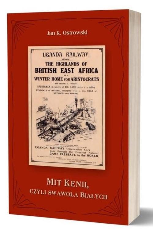 okładka Mit Kenii czyli swawola Białychksiążka      Jan K. Ostrowski