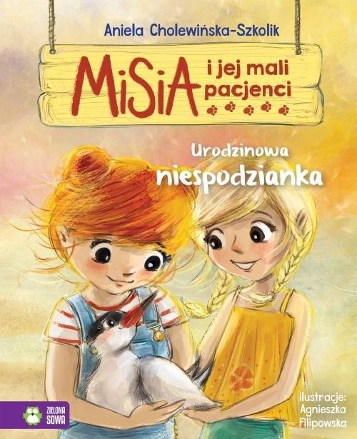 okładka Misia i jej mali pacjenci Urodzinowa niespodziankaksiążka |  | Aniela Cholewińska-Szkolik